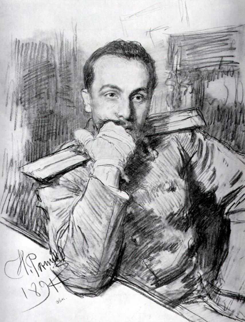 Портрет Александра Жиркевича — Репин Илья Ефимович