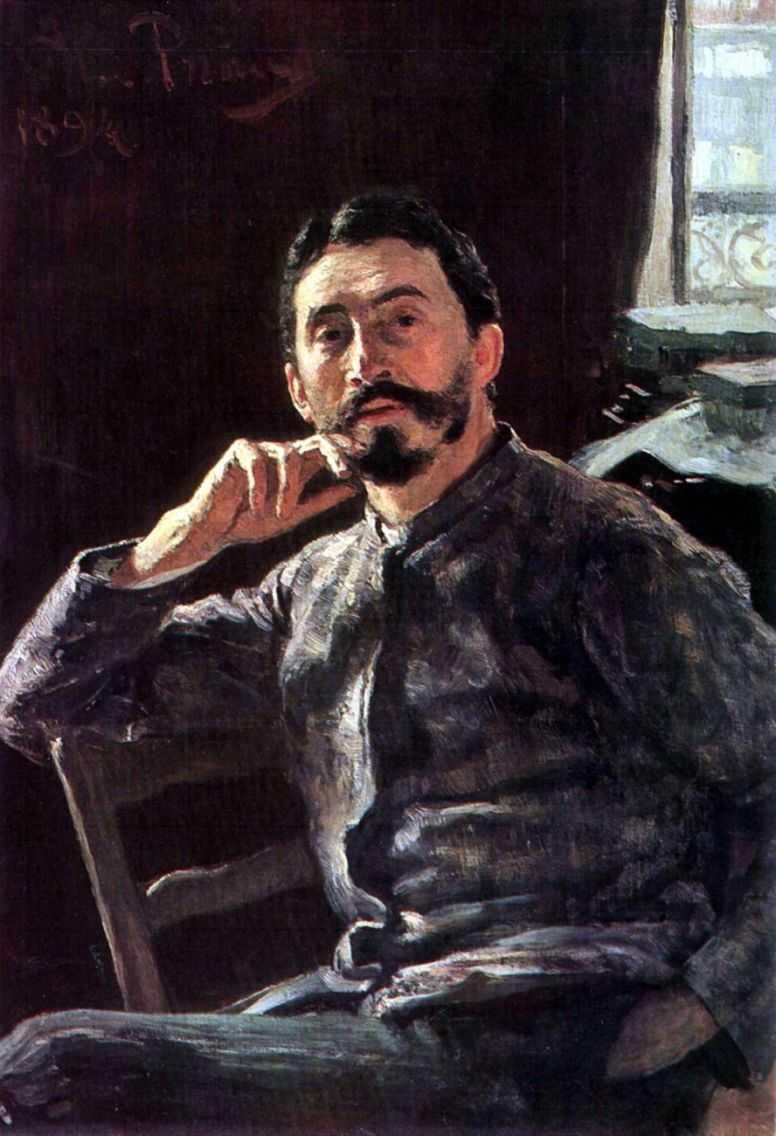 Автопортрет. 1894 — Репин Илья Ефимович