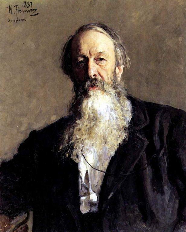 Портрет В.В.Стасова. — Репин Илья Ефимович