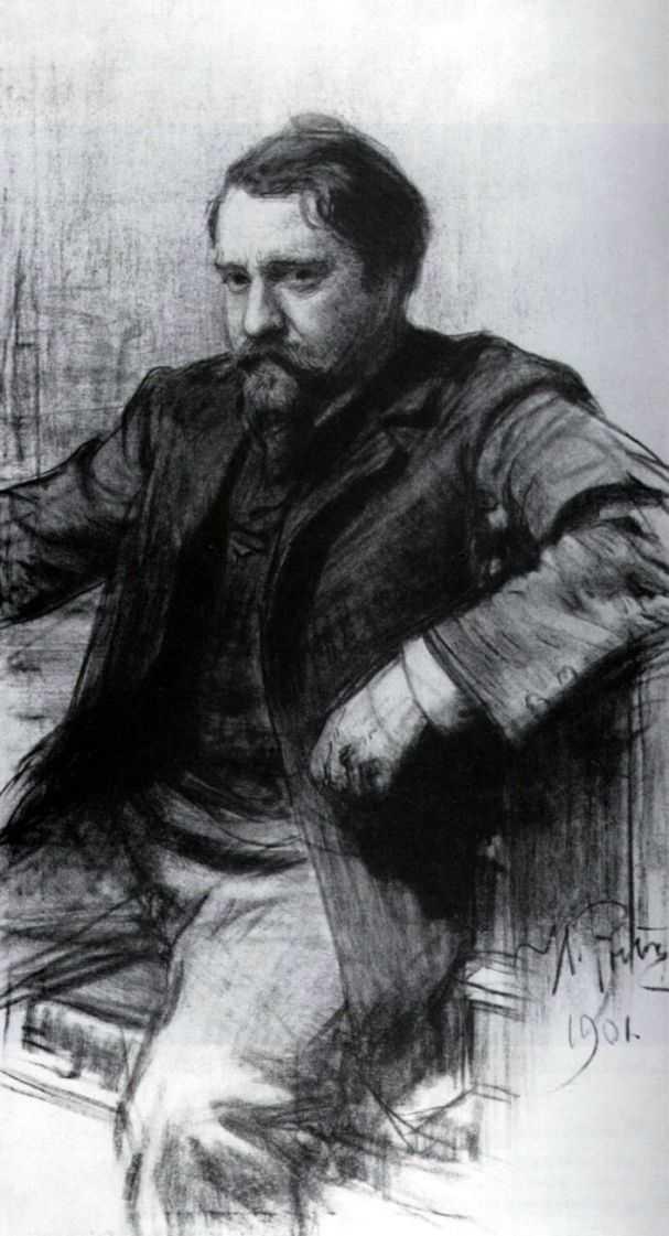 Портрет Валентина Серова — Репин Илья Ефимович
