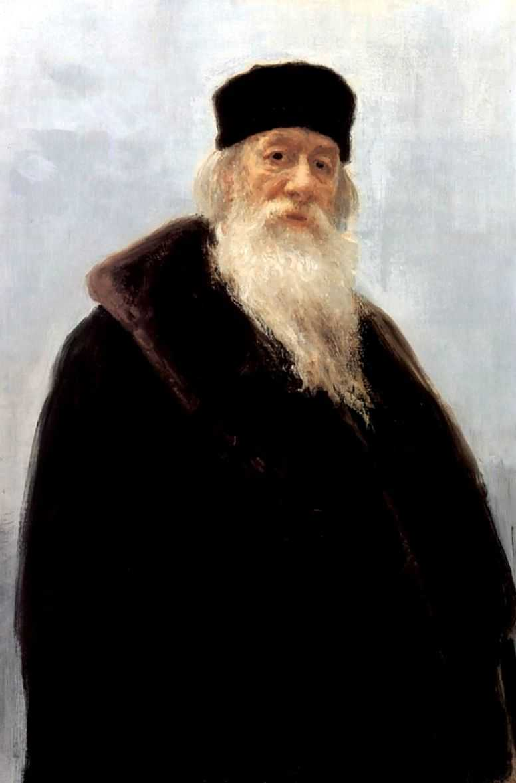 Портрет Владимира Васильевича Стасова 1 — Репин Илья Ефимович
