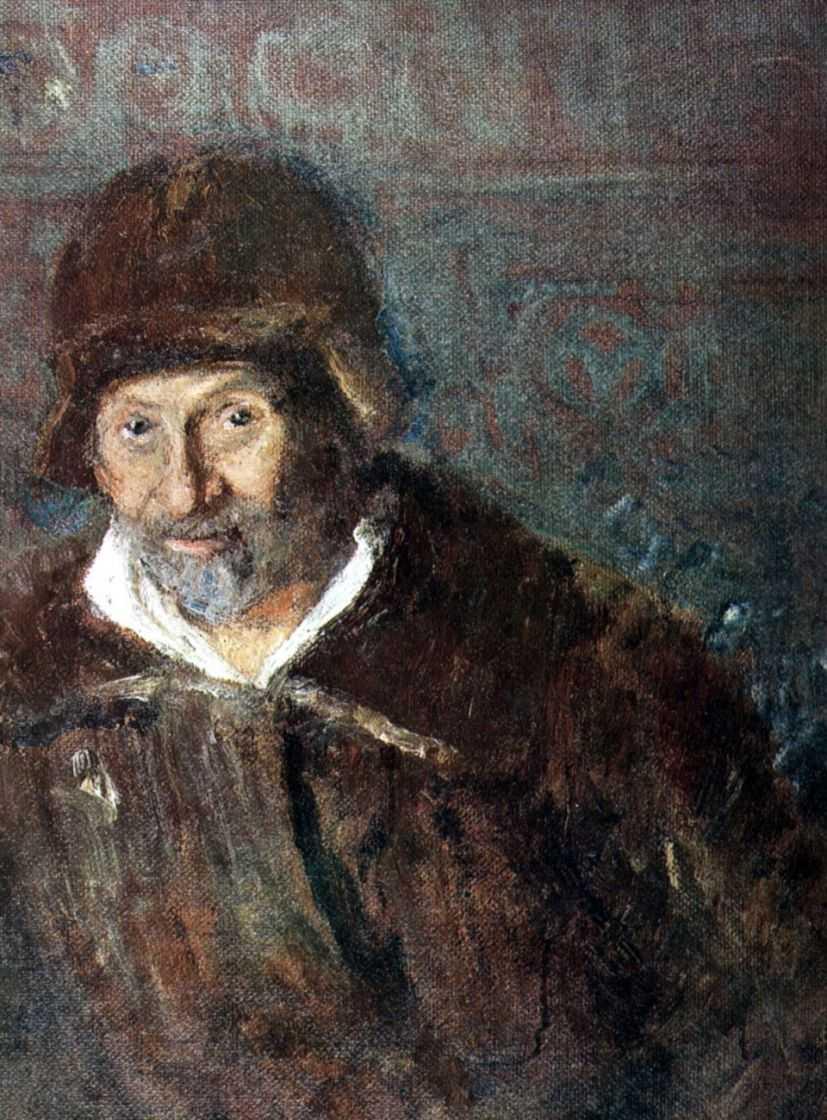 Автопортрет. 1923 — Репин Илья Ефимович