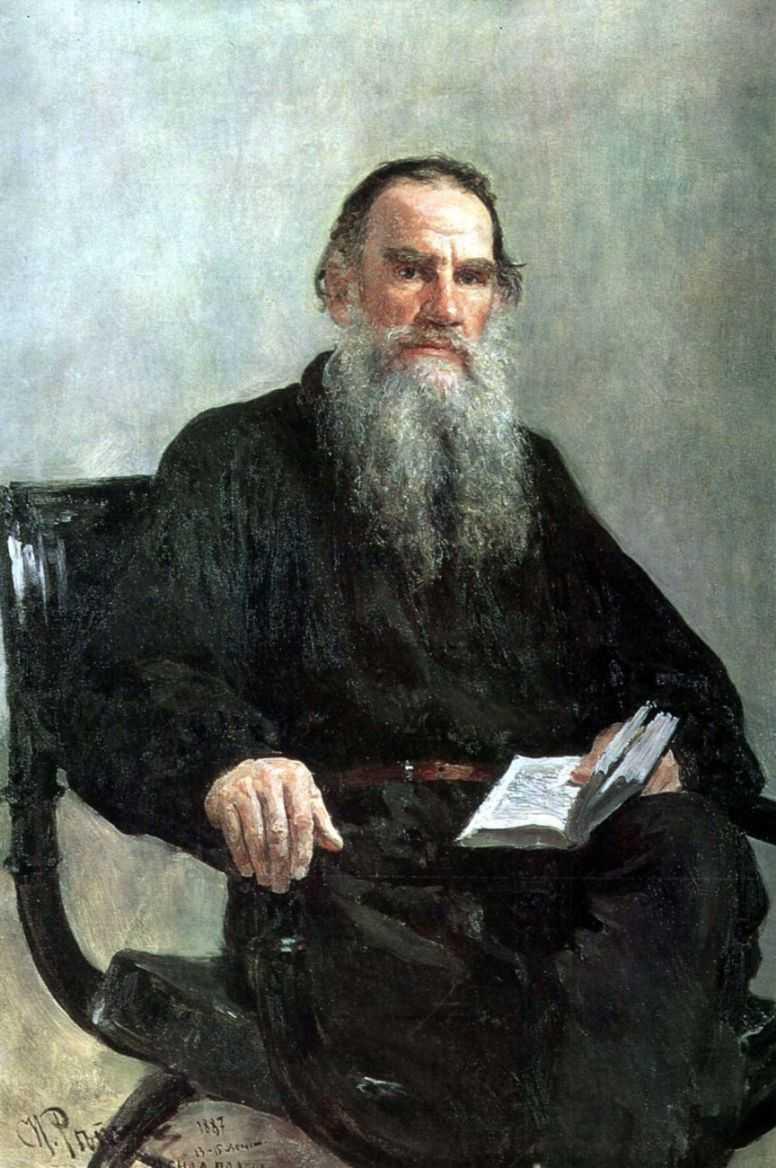 Портрет Льва Толстого — Репин Илья Ефимович