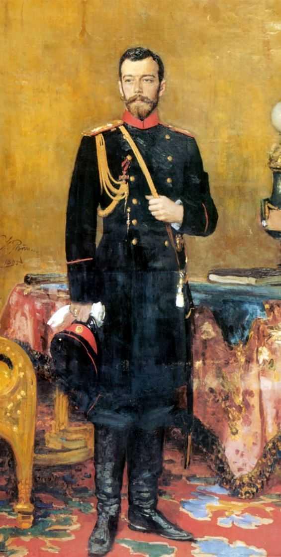 Портрет Николая II. — Репин Илья Ефимович