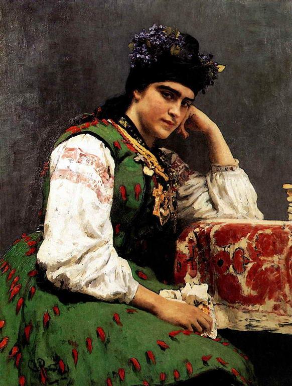 Портрет С.М.Драгомировой — Репин Илья Ефимович