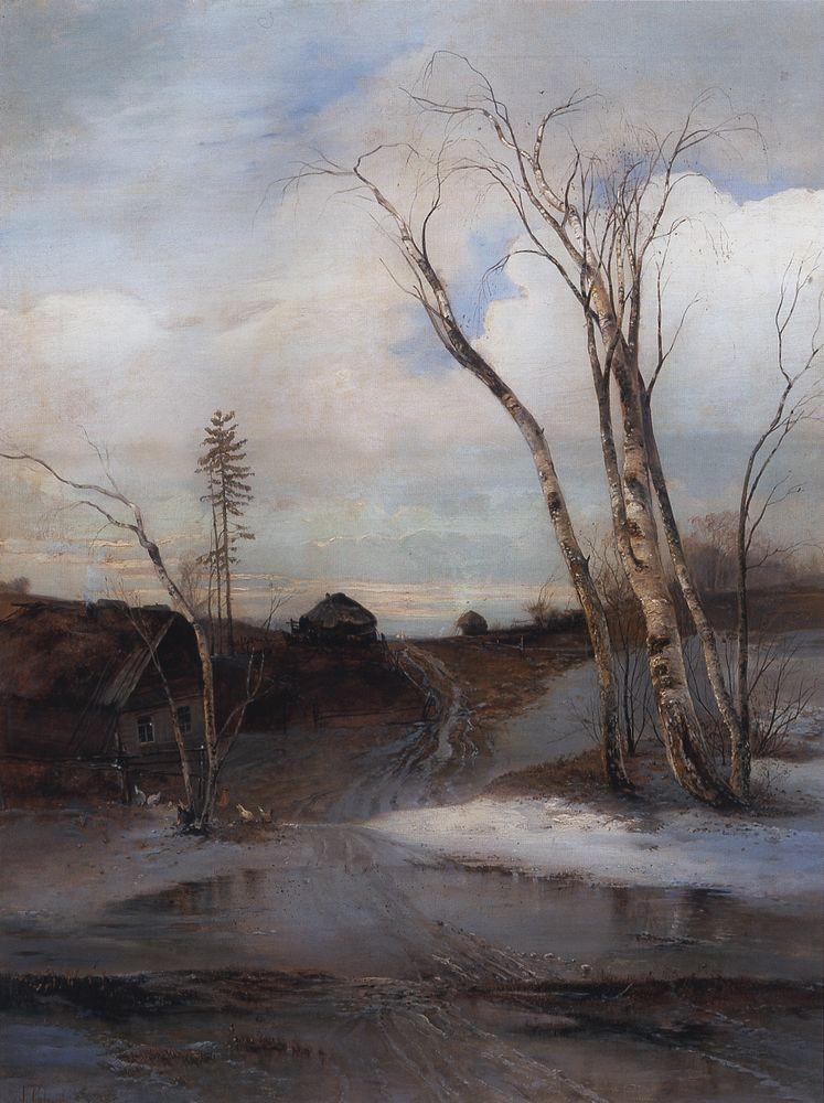 Весна 1 — Саврасов Алексей Кондратьевич