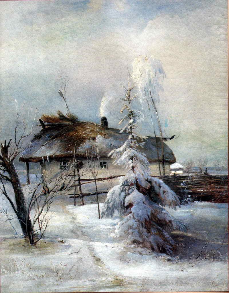 Зима 1 — Саврасов Алексей Кондратьевич
