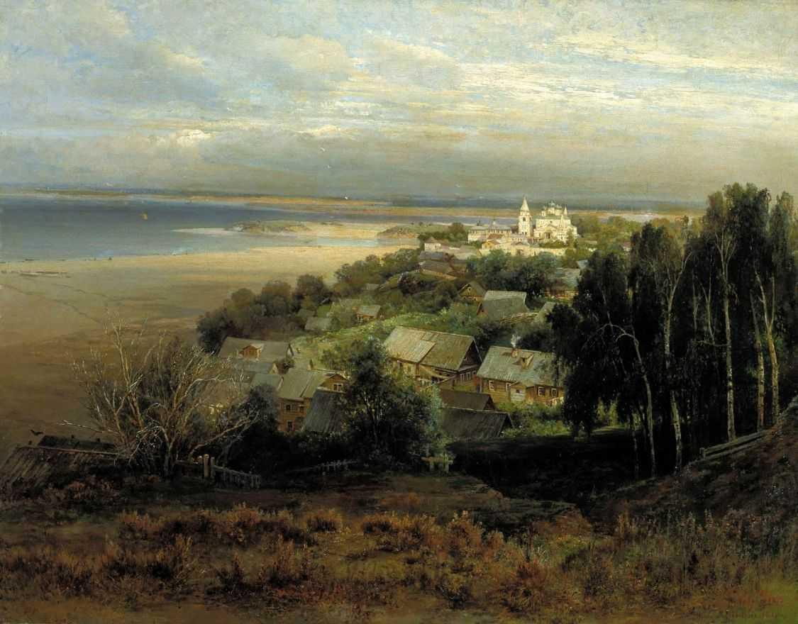 Печерский монастырь под Нижним Новгородом — Саврасов Алексей Кондратьевич