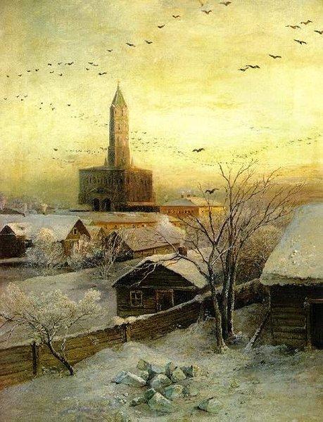 Сухаревская башня — Саврасов Алексей Кондратьевич