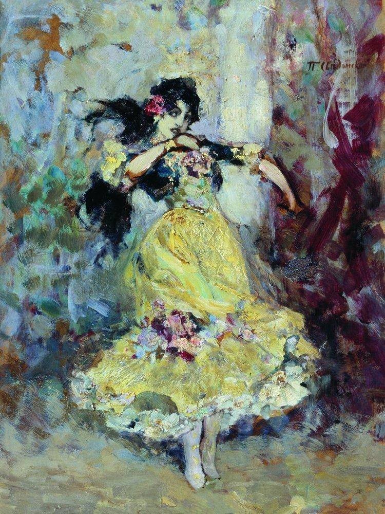 Испанская танцовщица — Сведомский Павел Александрович