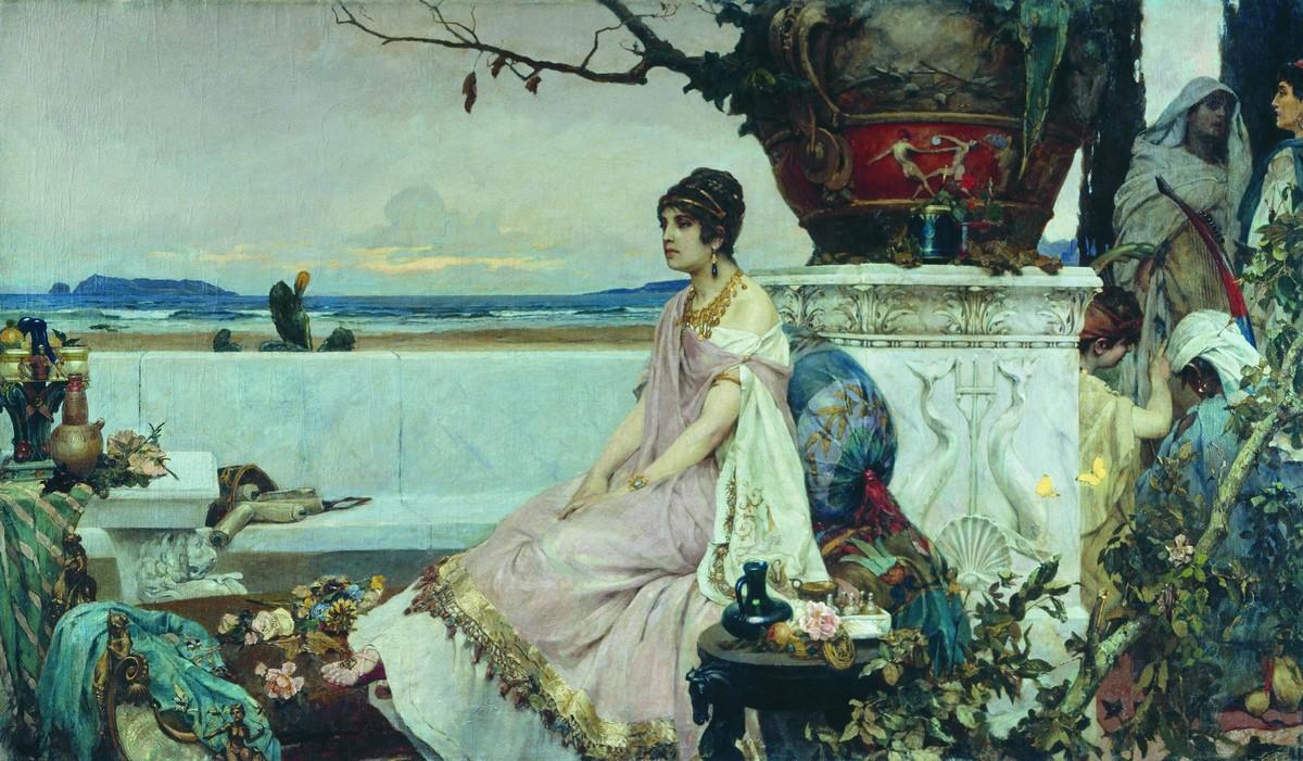 Римлянка у водоема — Сведомский Павел Александрович