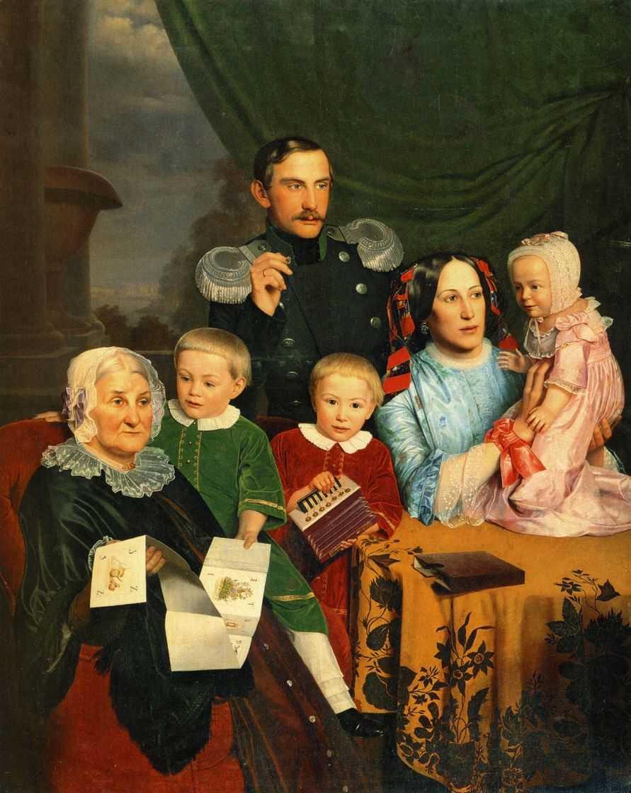 Семейный портрет 1 — Славянский Федор Михайлович
