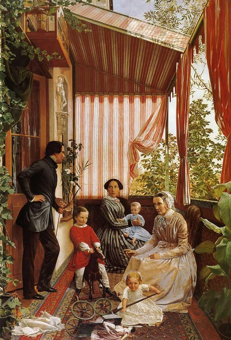 Семейный портрет — Славянский Федор Михайлович