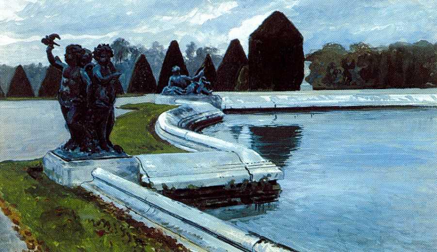 Водный партер в Версале — Бенуа Александр Николаевич