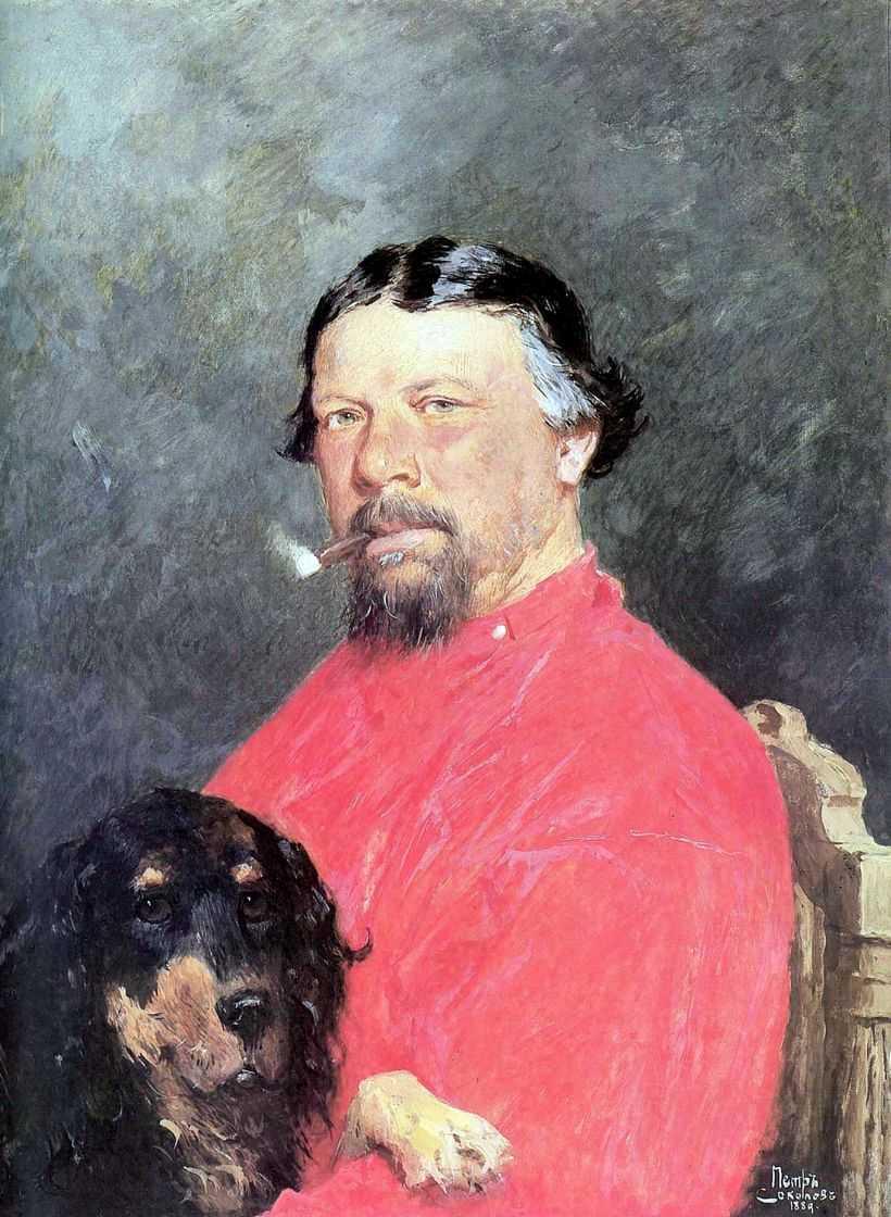 Портрет Сергей Николаевича Терпигорева — Соколов Петр Петрович