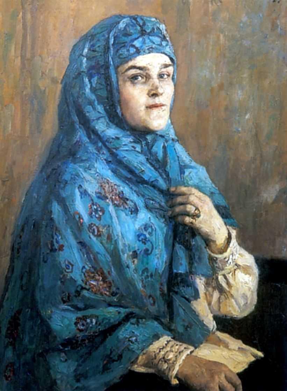 Портрет княгини П.И.Щербатовой — Суриков Василий Иванович