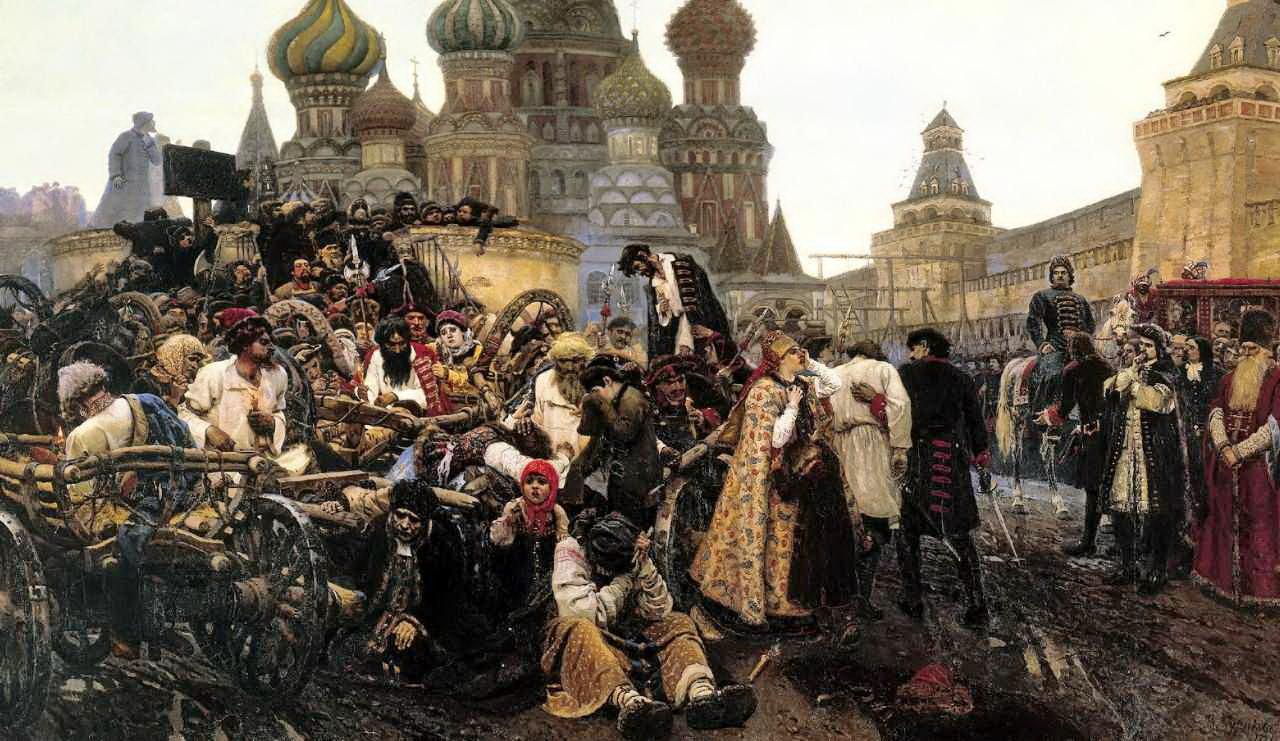 Утро стрелецкой казни — Суриков Василий Иванович