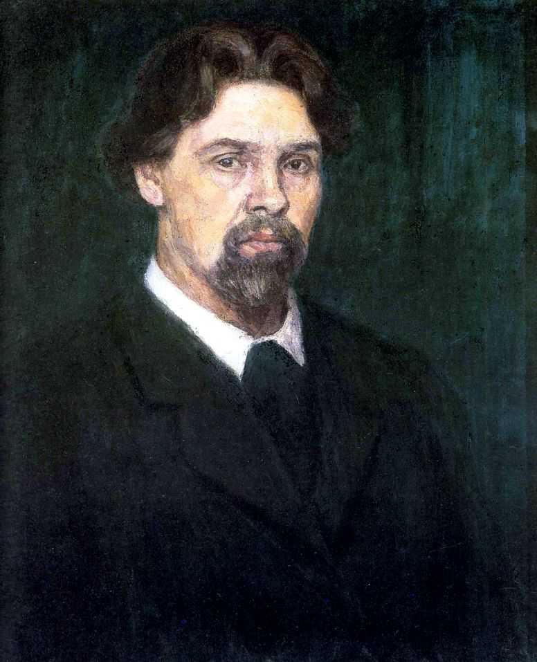 Автопортрет. 1913 — Суриков Василий Иванович