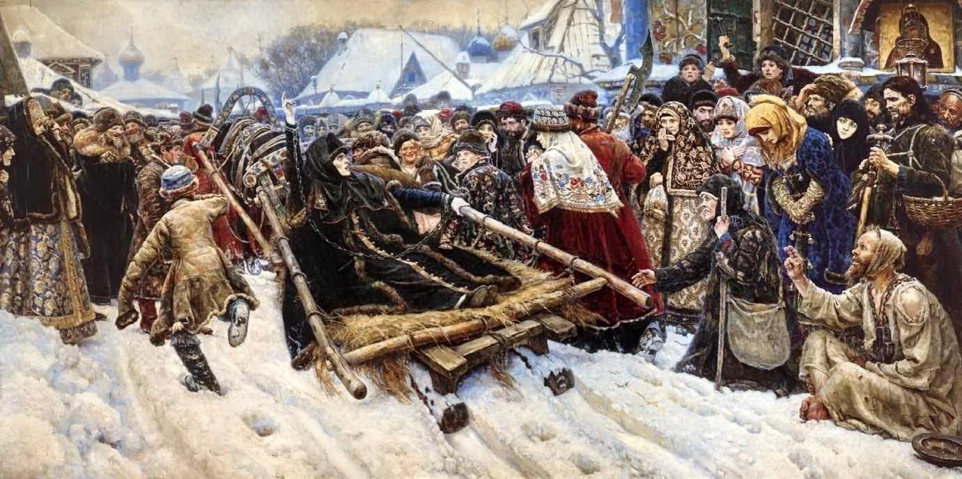 Боярыня Морозова — Суриков Василий Иванович