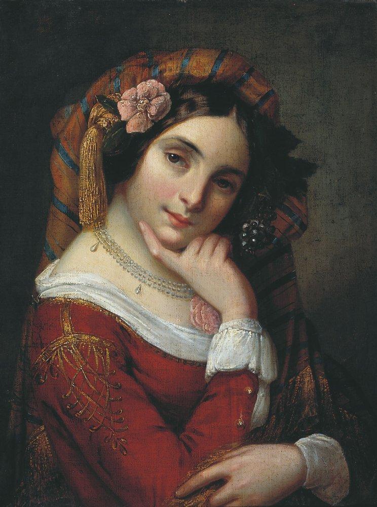 Девушка в тюрбане — Тимашевский Орест Исаакович