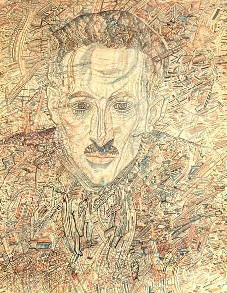 Портрет Н.Н.Глебова-Путиловского — Филонов Павел Николаевич