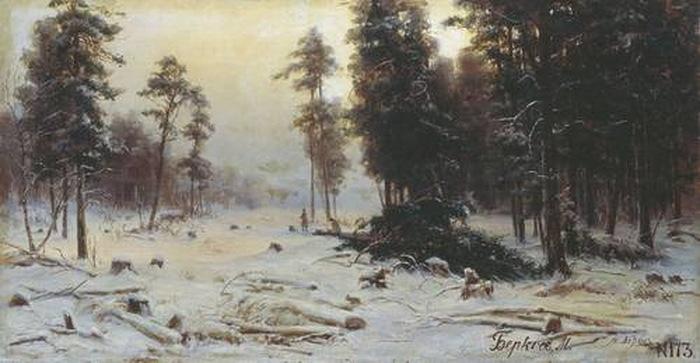 Рубка леса — Беркос Михаил Андреевич