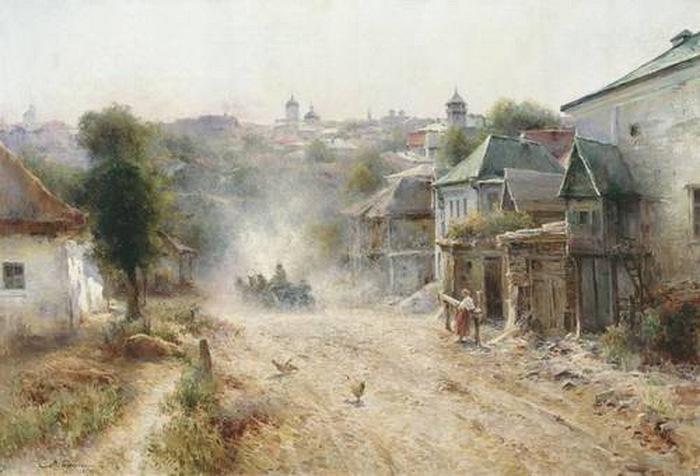 Улица в Умани — Беркос Михаил Андреевич