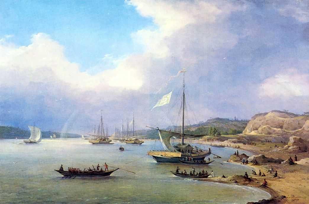 Вид на Волге — Чернецовы Григорий и Никанор Григорьевичи