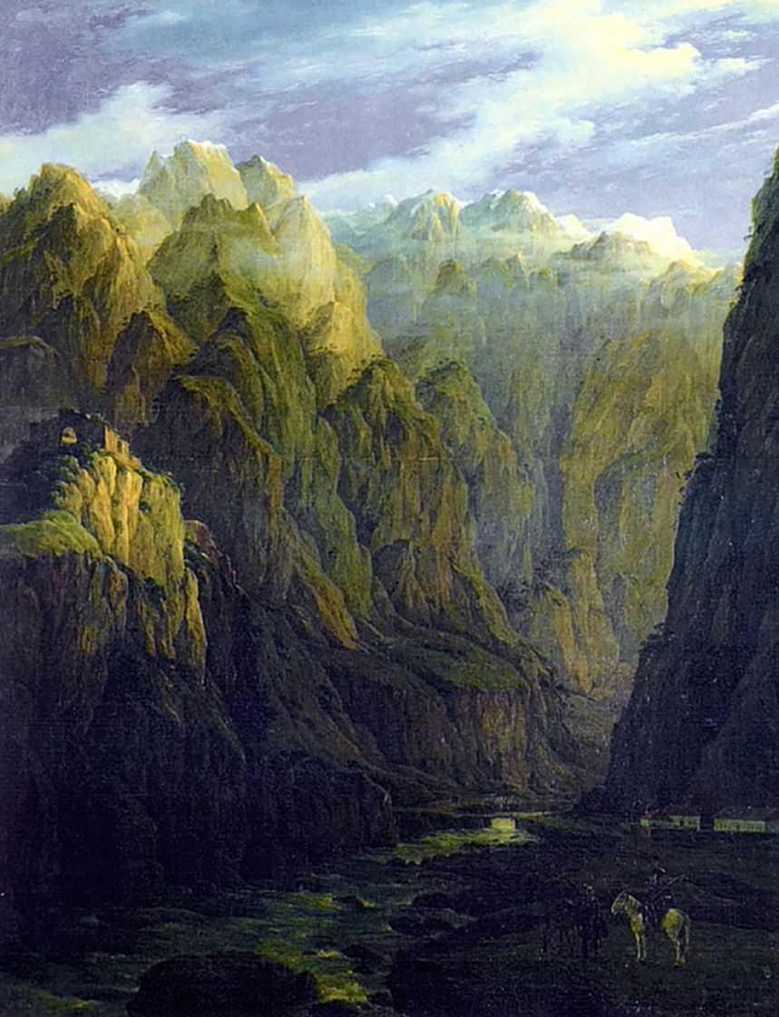 Дарьяльское ущелье — Чернецовы Григорий и Никанор Григорьевичи