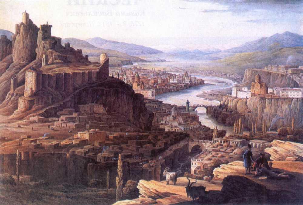 Вид Тифлиса — Чернецовы Григорий и Никанор Григорьевичи