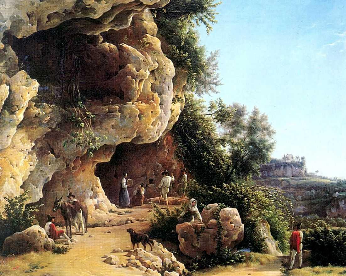Вид в Субиако — Чернецовы Григорий и Никанор Григорьевичи