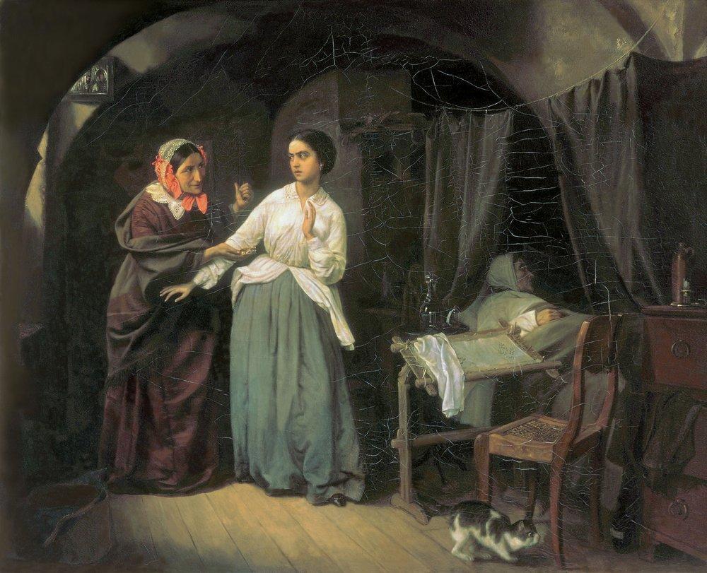 Искушение — Шильдер Николай Густавович