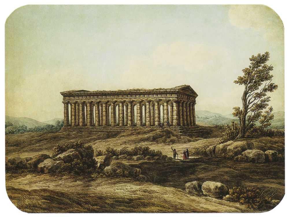 Храм Сегеста в Сицилии — Щедрин Семен Федорович