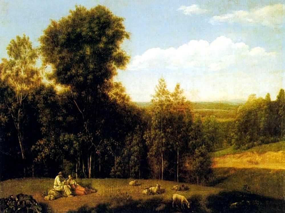 Вид в окрестностях Старой Руссы — Щедрин Семен Федорович