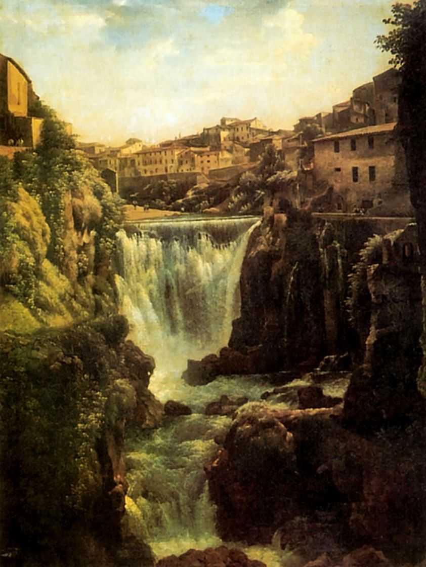 Водопад в Тиволи близ Рима — Щедрин Сильвестр Феодосиевич