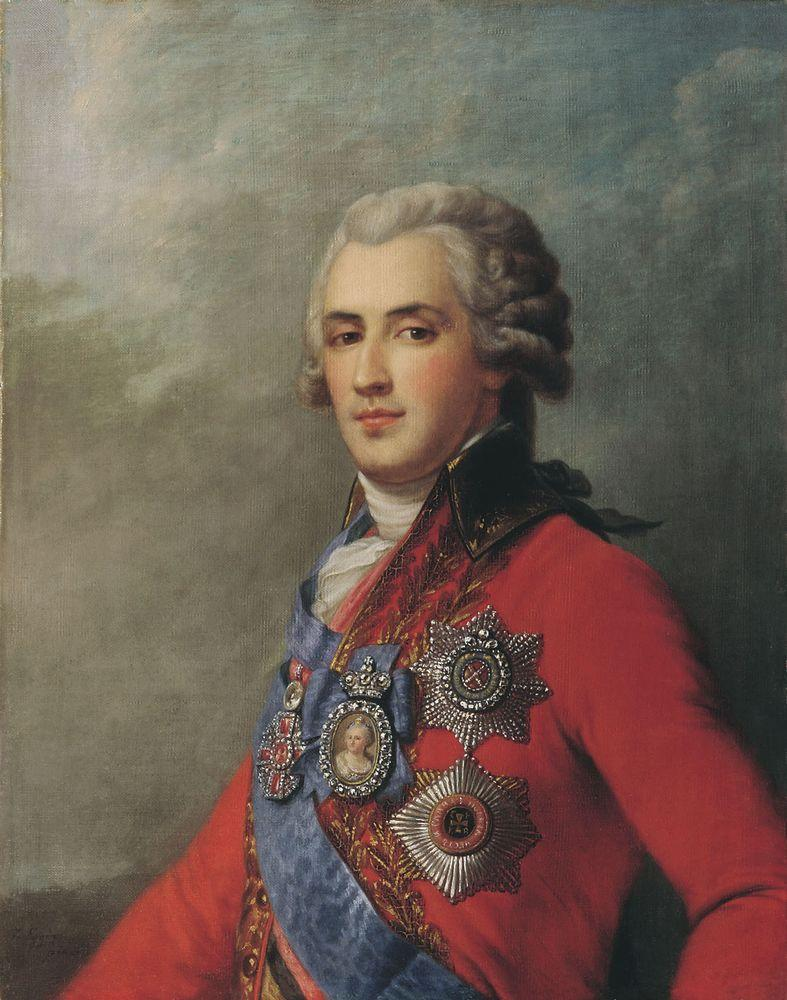 Портрет П.А. Зубова. XIX в — Эггинк Иван Егорович