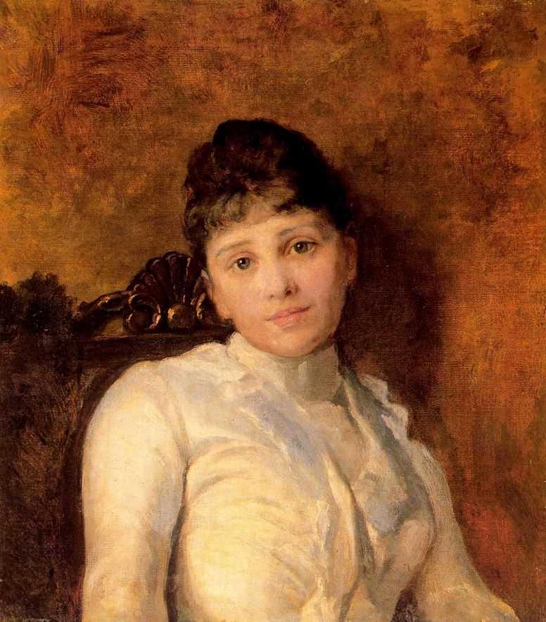 Портрет молодой дамы — Ярошенко Николай Александрович
