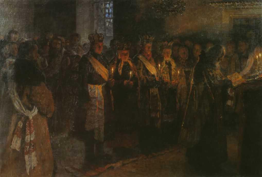 Венчание — Богданов-Бельский Николай Петрович
