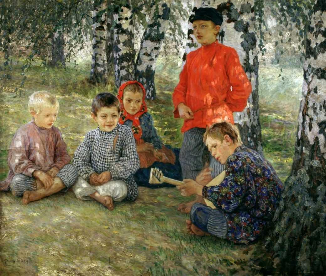Виртуоз — Богданов-Бельский Николай Петрович