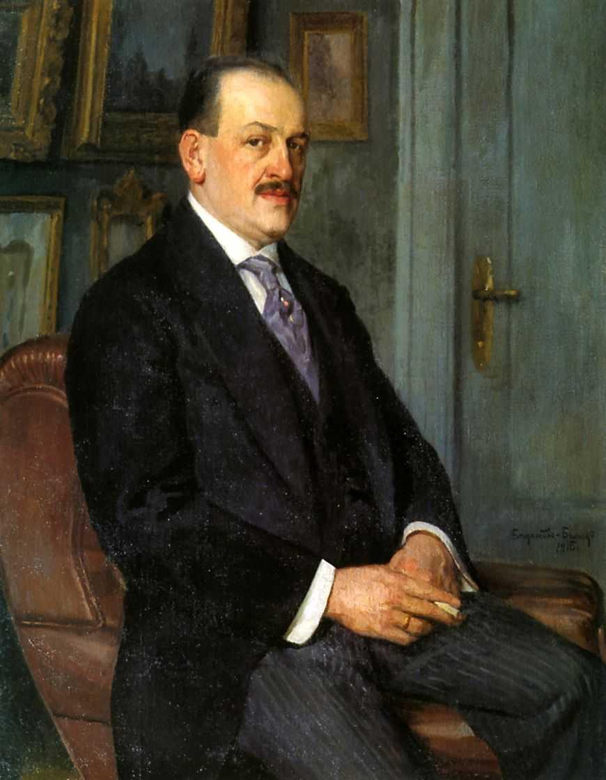 Автопортрет. 1915 — Богданов-Бельский Николай Петрович