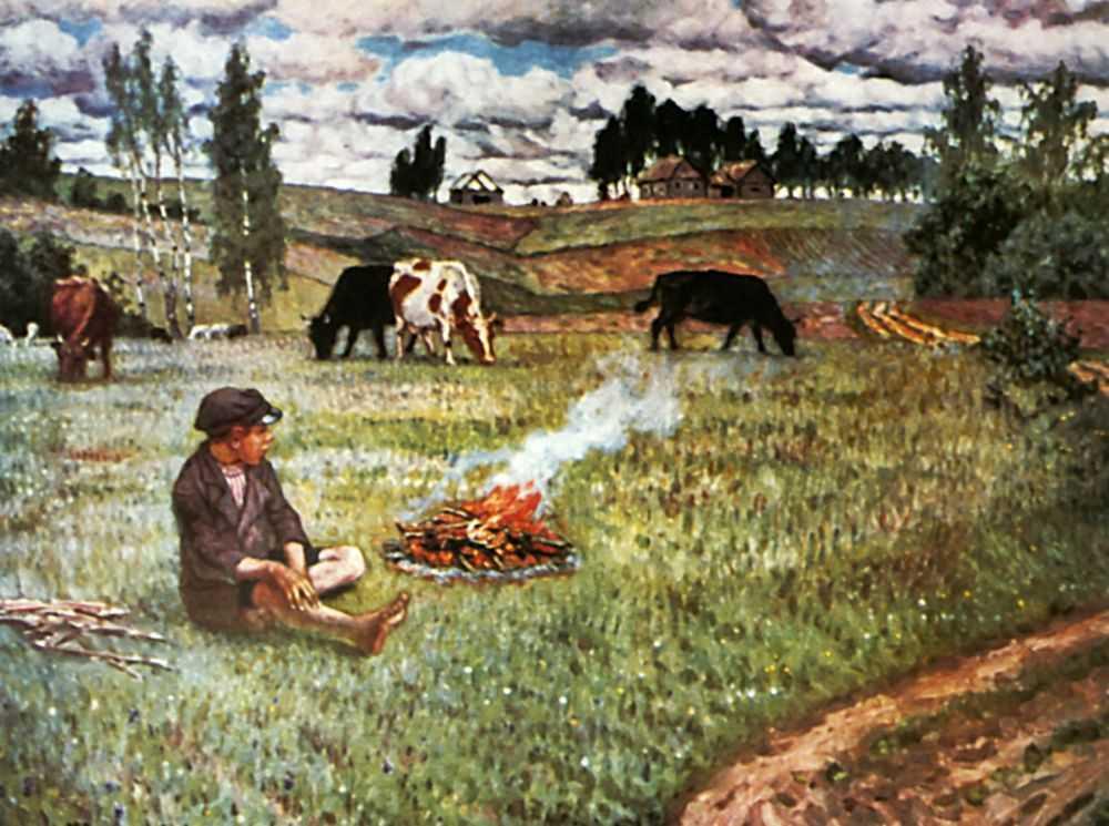 Пастушок — Богданов-Бельский Николай Петрович