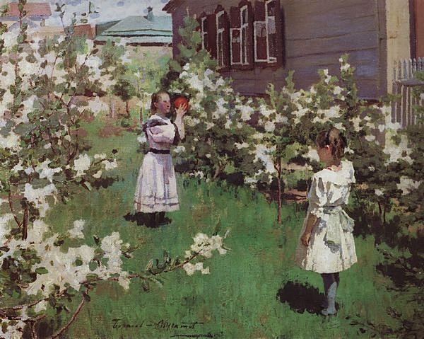 Майские цветы — Борисов-Мусатов Виктор Эльпидифорович