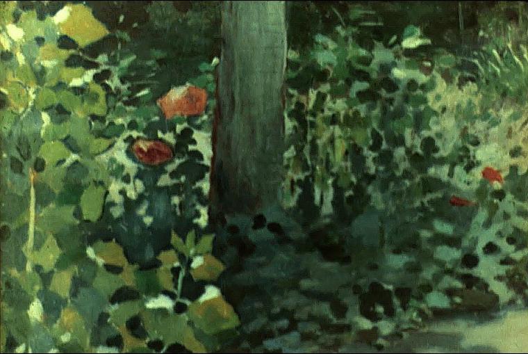 Маки в саду — Борисов-Мусатов Виктор Эльпидифорович