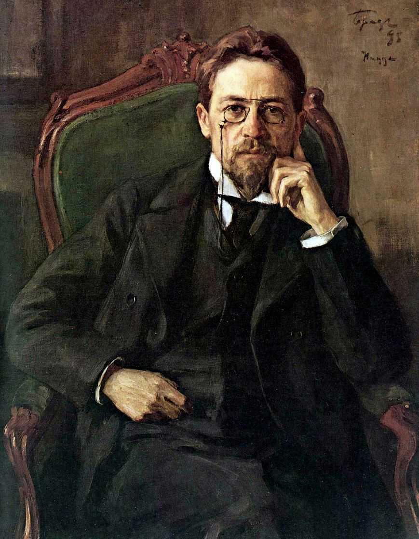 Портрет А. П. Чехова — Браз Осип Эммануилович