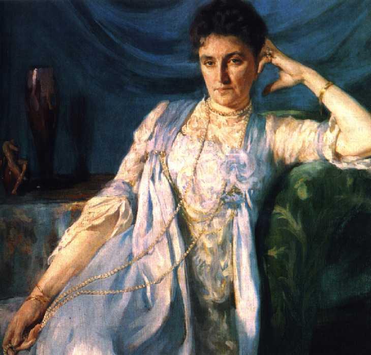 Портрет графини Е. М. Толстой — Браз Осип Эммануилович
