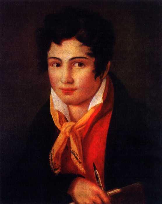 Автопортрет. 1810 — Бруни Федор Антонович