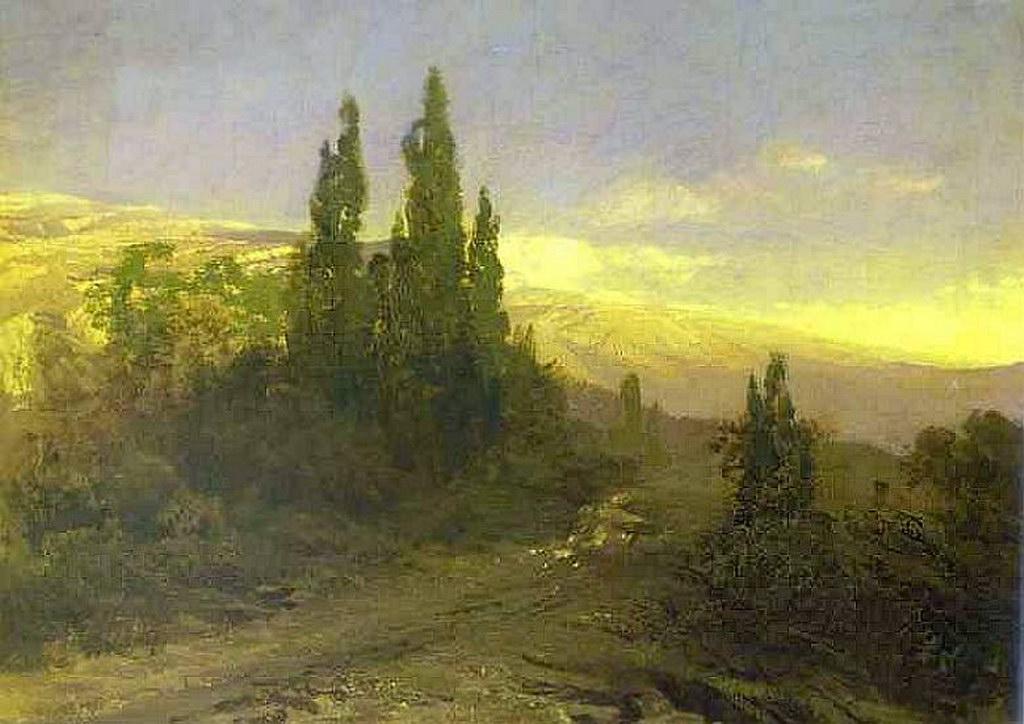 Вечер в Крыму — Васильев Федор Александрович