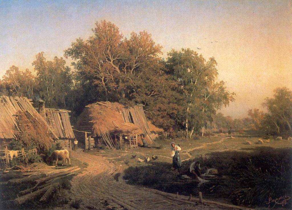 Деревня — Васильев Федор Александрович