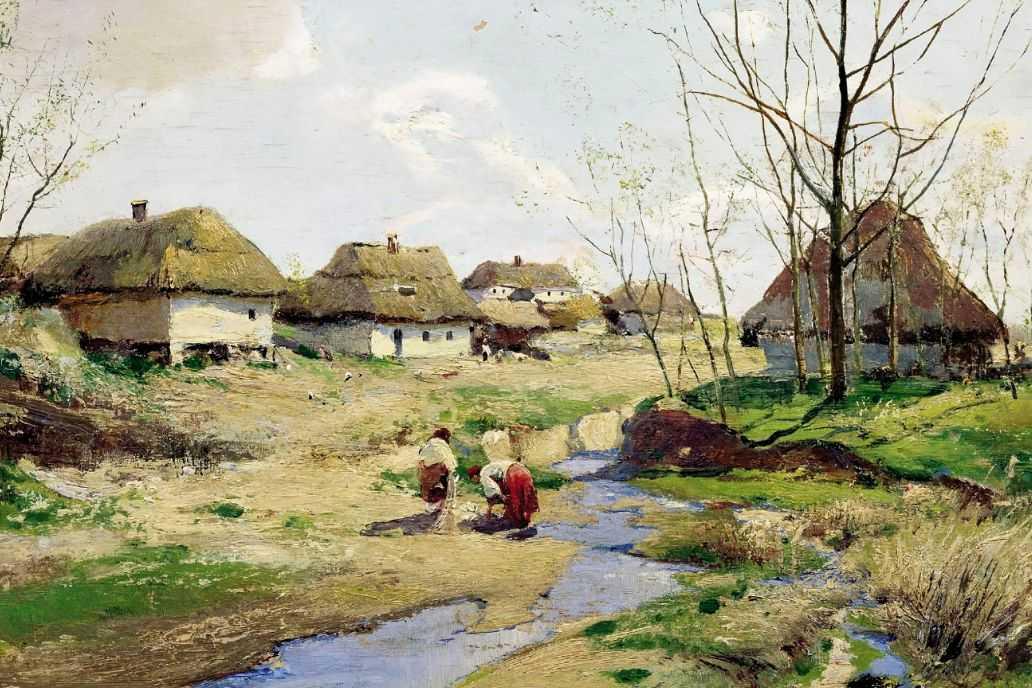 Весенний день на Украине — Васильковский Сергей Иванович