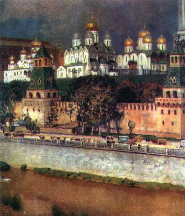 Кремль — Васнецов Аполлинарий Михайлович
